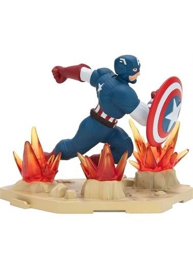 Hasbro Zoteki Avengers Tekli Figür Captain America Renkli